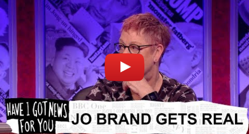 Youtube post by BBC: Jo Brand on sexual harassment and feminism - Have I Got News For You  Series 54 - BBC One