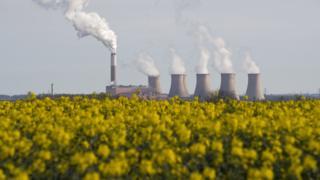Cottam coal-fired power plant
