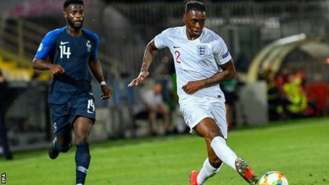 Crystal Palace defender Aaron Wan-Bissaka