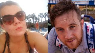 Jess Beeton and Richard Berrington