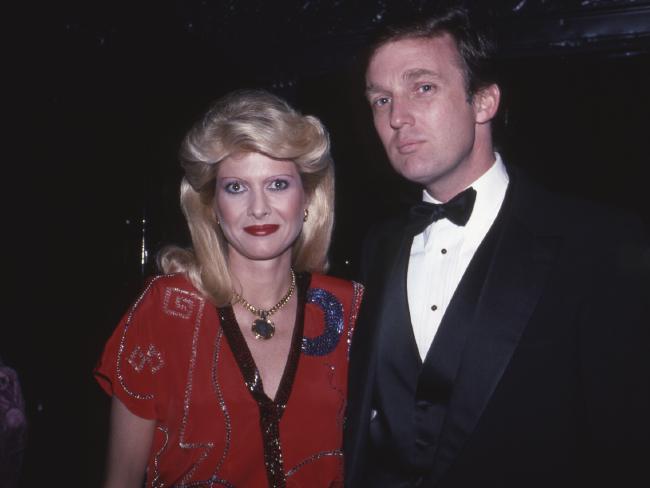 Ivana Trump and Donald Trump in 1982 in New York City.