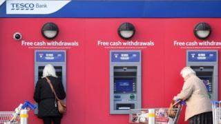 Tesco Bank cashpoints