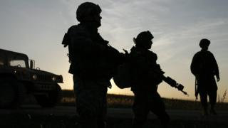 Soldiers train at Fort Riley, Kansas