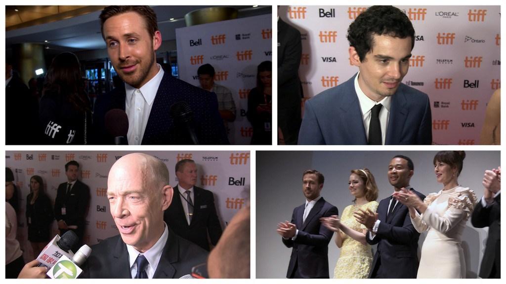 TIFF Premiere Interviews Ryan Gosling J.K. Simmons  Damien Chazelle for La La Land                   By Jon Lyus-       Sep 13 2016              0