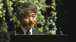 Dr. Tetsu Nakamura of Japan August 31, 2003