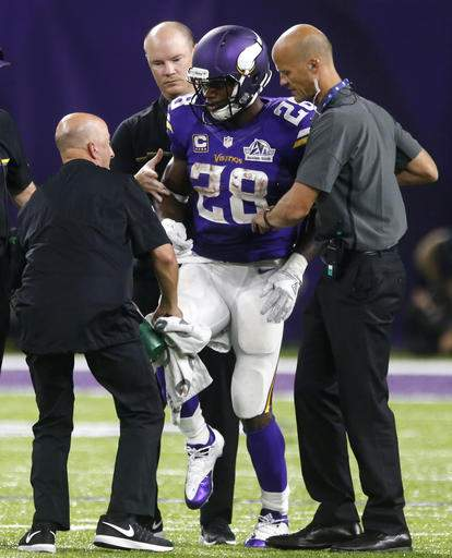 Vikings RB Adrian Peterson to have surgery on torn meniscus