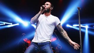 Adam Levine from Maroon 5