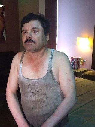 El Chapo was recaptured after escaping from a Mexican jail in July 2015.