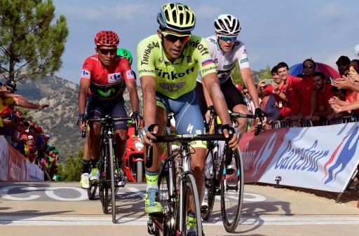 Frank wins Vuelta 17th stage Quintana stays in lead