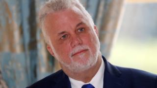 Quebec Liberal leader Phillipe Couillard