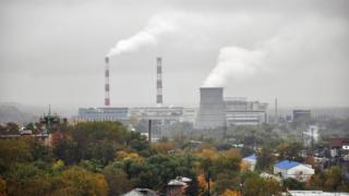 Russian power station