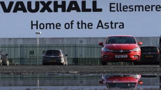 Vauxhall's Ellesmere Port plant