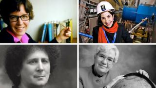 Four female pioneers of physics