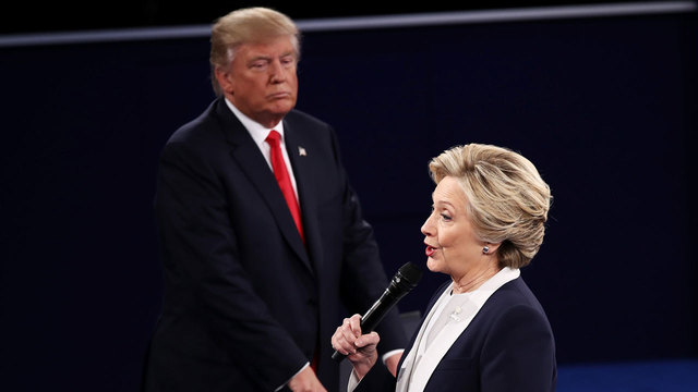 Clinton Trump clash in 2nd debate CNN's Reality Check Team vets the claims