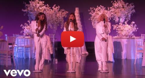 Youtube post by ArianaGrandeVevo: Ariana Grande - thank u, next (Live on Ellen / 2018)