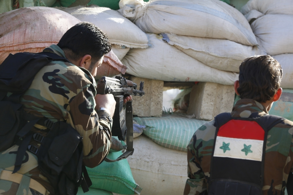 Turkey Shells Kurdish Held Areas in Syria as Russia Continues Bombing Campaign