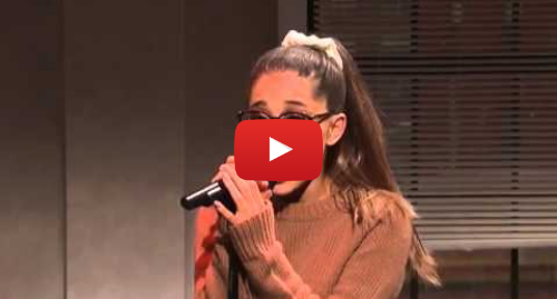 Youtube post by ArianaGrandeFan: Ariana Grande Imitating Celebrities (Live on SNL 2016)