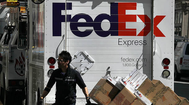 FedEx is trying to decrease its dependence on the postal service.  Sabri Ben-Achour