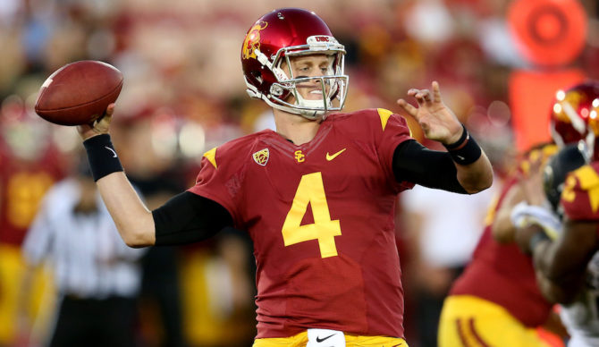 USC Shows Hope By Scoring First Touchdown