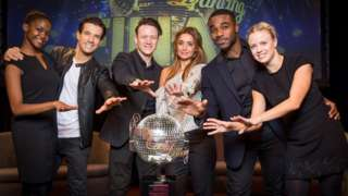 The Strictly finalists