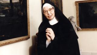 Sister Wendy Beckett in 1996