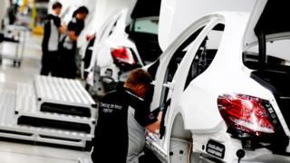 Mercedes-Benz factory