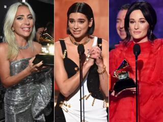 Lady Gaga, Dua Lipa and Kacey Musgraves