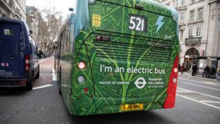 An electric bus