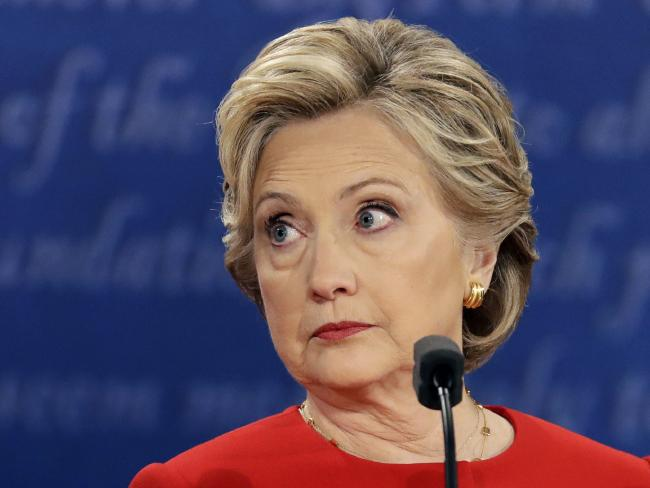 The gloves will be off as Hillary Clinton tries to show her rival is unfit to be president. Picture: Julio Cortez/AP