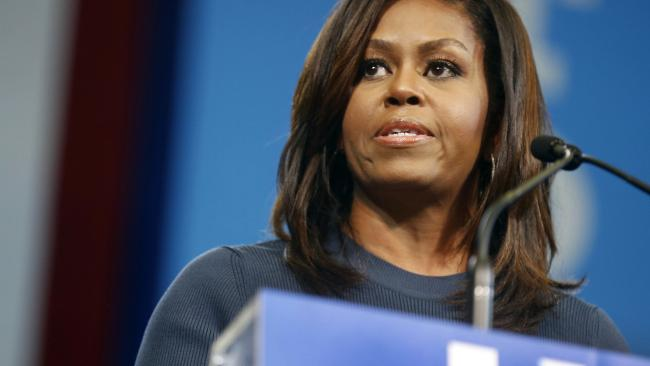First lady Michelle Obama. Pic: AP