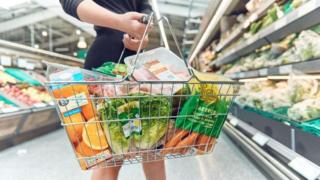 Morrisons shopping basket