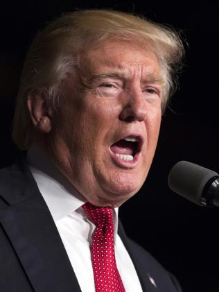 """Republican presidential candidate Donald Trump is """"tapping into a well of discontent. Picture: AP"""