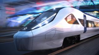 Alstom's proposed design for a HS2 train