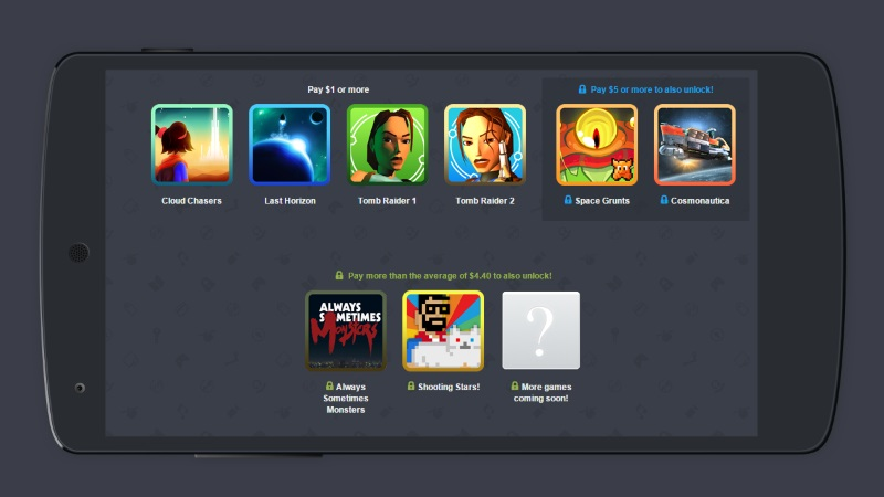 Humble Mobile Bundle 20 for Android Features Tomb Raider 1 and 2 Last Horizon and More for $1