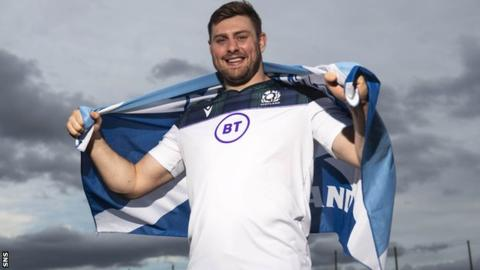 Edinburgh number eight Nick Haining