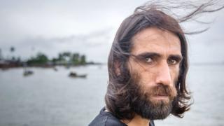Behrouz Boochani, a Kurdish asylum seeker at Manus island