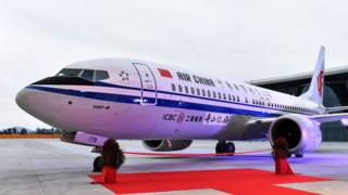 Air China Boeing 737 Max 8