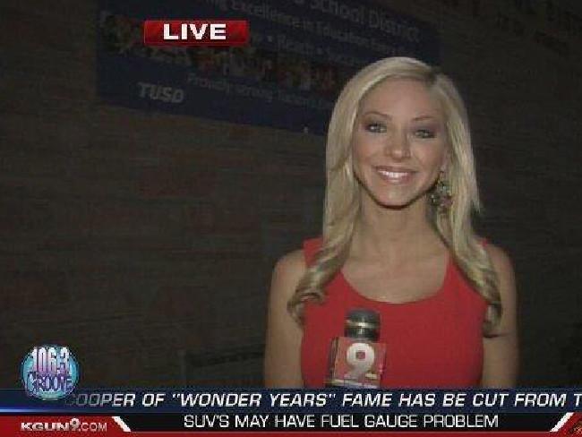 Krystin Lisaius worked as an on-air reporter for KGUN9. Picture: KGUN9