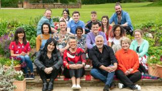 The Great British Bake Off class of 2019