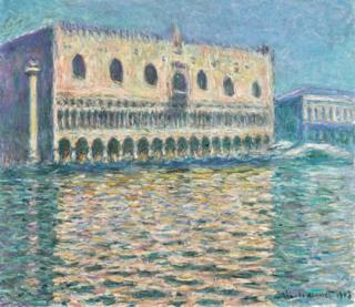 Monet's Le Palais Ducal