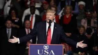 US President-elect Donald Trump. Photo: 15 December 2016