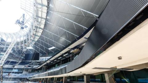 Tottenham's new stadium at White Hart Lane