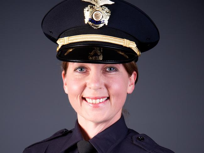 Officer Betty Shelby who fired the fatal shot that killed 40-year-old Terence Crutcher. Picture: Tulsa Police Department via AP