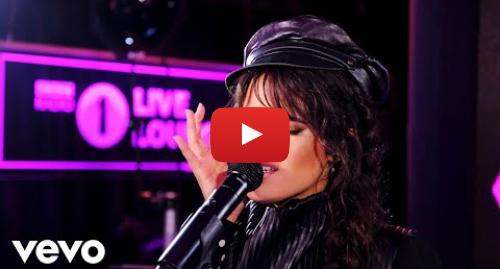 Youtube post by BBCRadio1VEVO: Camila Cabello - Liar in the Live Lounge