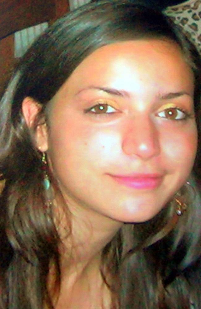 An undated picture of British student Meredith Kercher. Picture: Getty