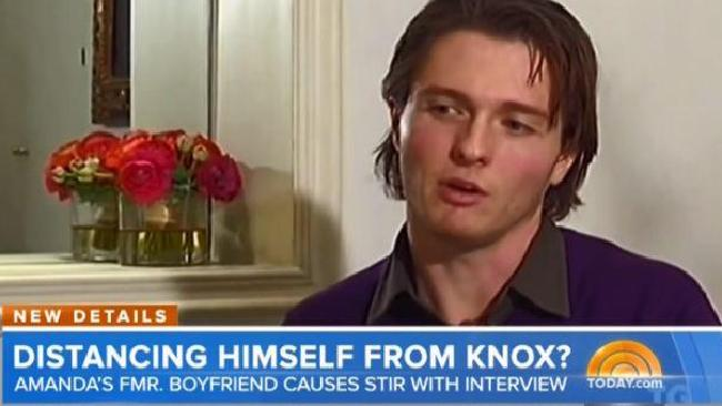 Knox and Sollecito spoke on the day of the final exoneration for Kercher's murder.