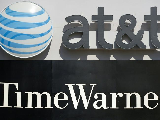 ATamp;T and Time Warner are close to a deal, reports suggest. Picture: AFP