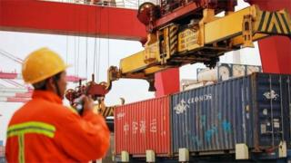 Chinese container port