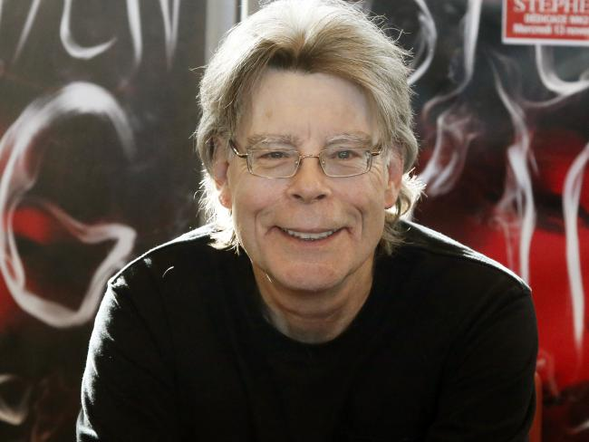 Author Stephen King says he is terrified, scared to death of Donald Trump becoming president of the US. Picture: AP / Francois Mori