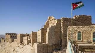 The castle at Karak